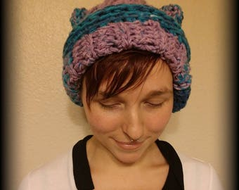 Chunky Cat/Bear Ear Hat