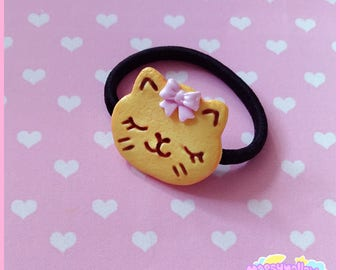 Cookie kitty scrunchy cute and kawaii