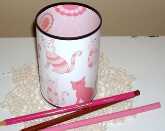 damask office accessories. Cat Desk Accessories - Pencil Holder Cup Lover\u0027s Set Damask Office