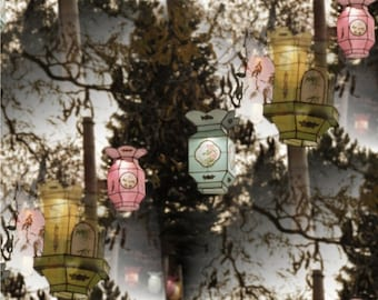 Chinese lantern photography pastel lantern photo chinese new year home decor red lanterns chinese paper lantern photography art LANTERN BALL