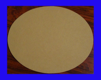 Oval Mosaic Base or DIY Crafte Shape 11x14 Inches Choose Your Thickness