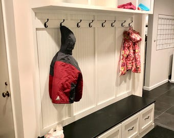 Entryway Bench With Storage 3 Piece Without Sides/entryway  Furntiure/organization/shoe Storage