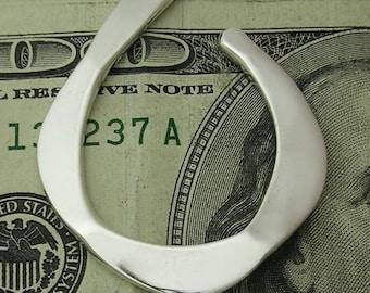 Money Clip in Sterling Silver