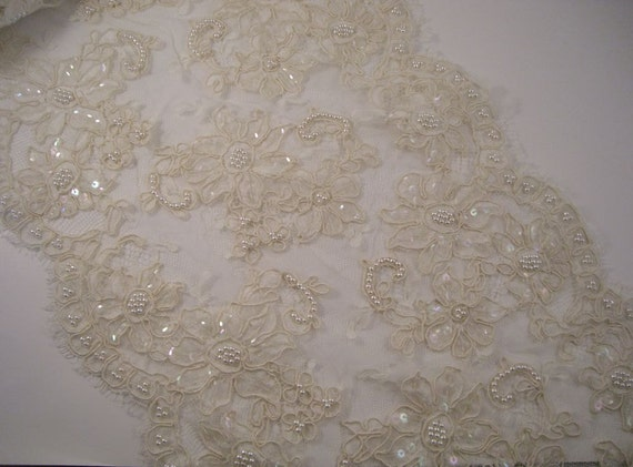 Beaded Lace by the Yard