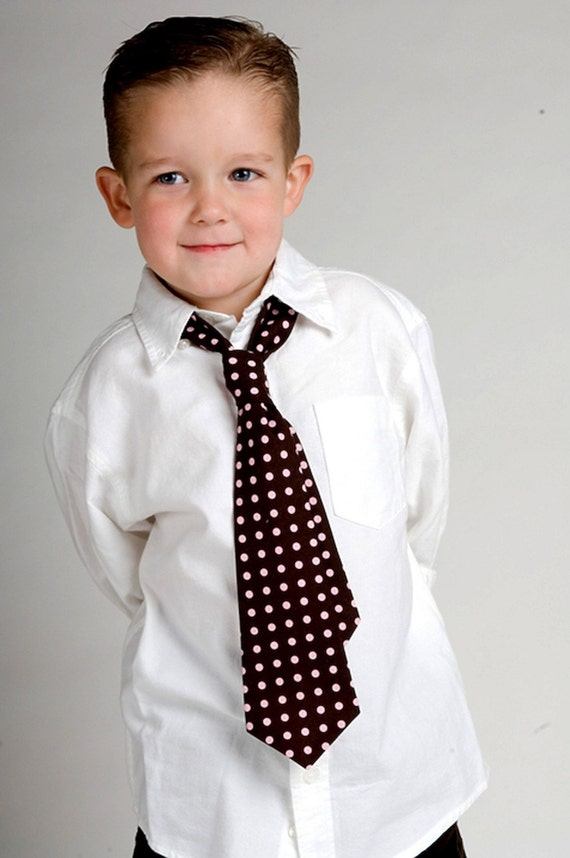 Boys Tie Pattern Ebook Teen Baby Sizes 6mths-10yrs Tutorial