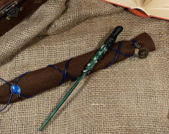 Handmade magic wand incl. Bag-Magic Wand