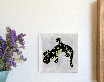 California Tiger Salamander Stitching