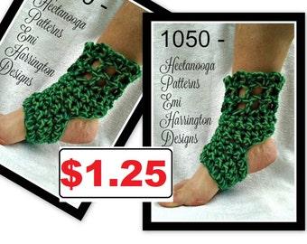 CROCHET PATTERN , Yoga socks, easy beginner level, adult small, adult large, #1050,crochet yoga socks