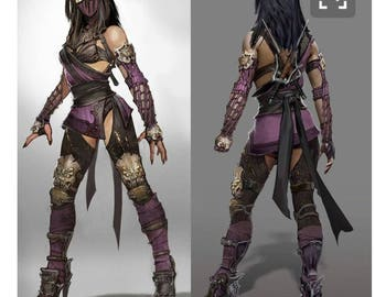 Mileena alternate cosplay costume