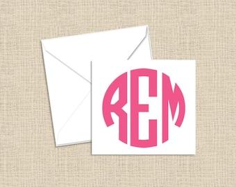 Personalized Mini Foldover Enclosure Cards