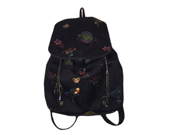 90s Goth Rucksack | Asian Style Chinese Backpack
