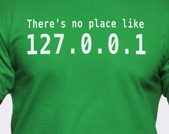 There's No Place Like Home IP Address T-Shirt