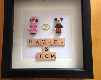 Mr & Mrs wedding gift frame