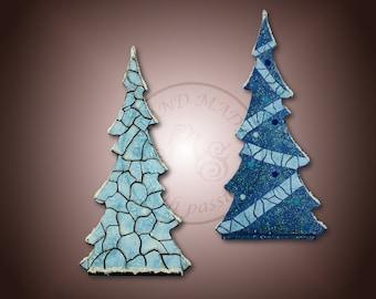 Snow and ice Christmas tree, the Christmas tree, the Christmas and home decoration