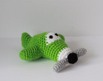Crochet Mini Airplanes; stuffed toy