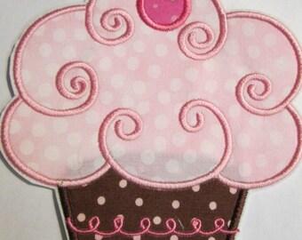 Iron On Applique - Cherry Cupcake 778PP
