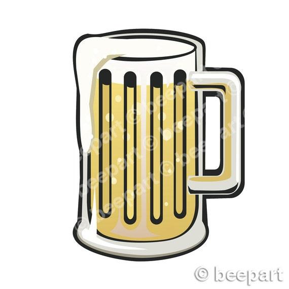 beer stein clip art german pint glass illustration royalty free rh etsystudio com beer stein clipart black and white beer mug clipart vector