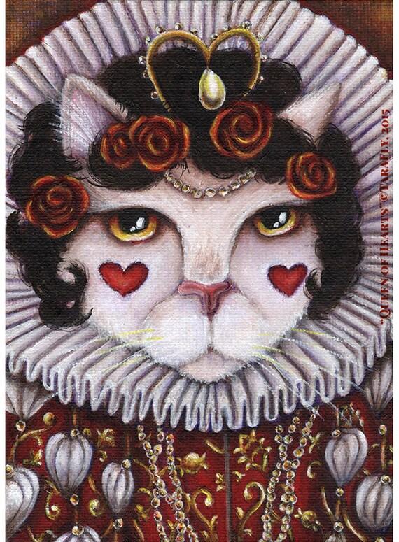 Queen of Hearts 8x10 Fine Art Print