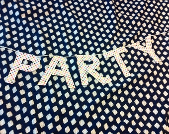 Party Banner - Polka Dot