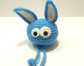 Plush Bunny, rabbit, rabbit blue Bob Nonochoux