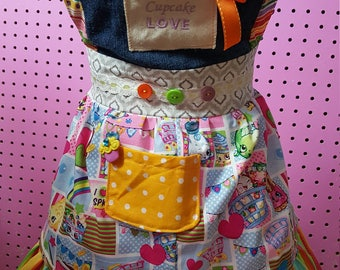 Shopkins Apron size 4