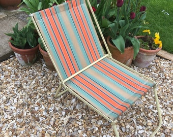 Old Vintage/Retro Folding Deck Chair