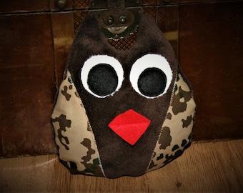 Owl Fleck, Owl pillow Wüstenflecktarn