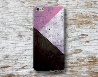 Geometric Pink Phone Case for iPhone 4 4s 5 5s SE 5C 6 6S 7 8 PLUS X iPod Touch 5 6 Oneplus 2 3 5 1+2 1+3 1+5