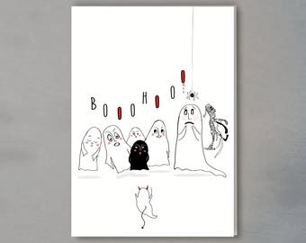 greeting card - halloween (incl. envelope)