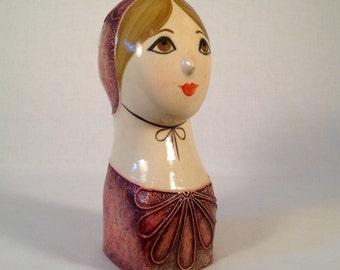 Mexican Gemma Taccogna-Style Papier-mâché Female Head