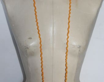 Yellow shells necklace