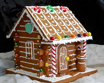 Faux gingerbread garden shed faux gingerbread little log cabin maxwellsz