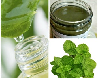 Minty Green Tea Clay Face Mask - 2 oz Jar - Natural Mineralizer, Removes Dead Skin Cells, Acne, Blackheads, Astringent, Mint Julep Masque