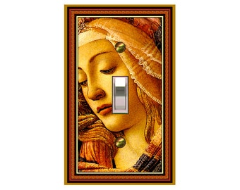 choose sizes / prices from drop down box0735A - The Magnificent Woman -  mrs butler switch plate covers - - mix/match with 0736b