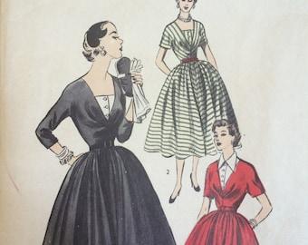 Vintage Advance 1950's dress pattern