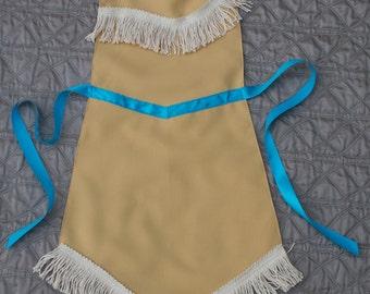 Pocahontas Inspired Dress Up Apron