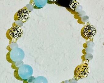 Aromatherapy wellness bracelet