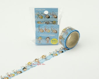 Synchronized Swimming Japanese Die Cut Washi Tape (RT-MK-019) Price depends on order volume.