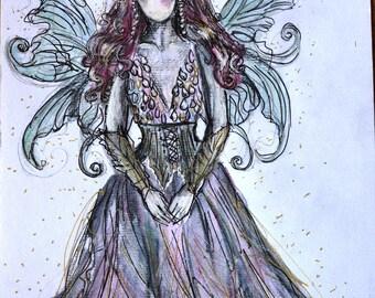 Fairy princess original artwork