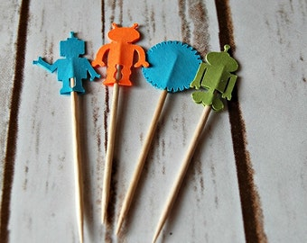 Robot Party Picks (24pc)