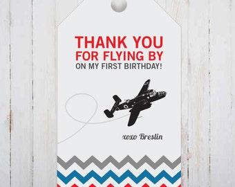 VIntage Airplane, GIft Tags - PRINTABLE
