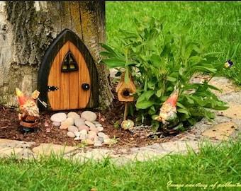 Gnome doors, Fairy Doors, Faerie Doors, Elf Doors, 9 inch.