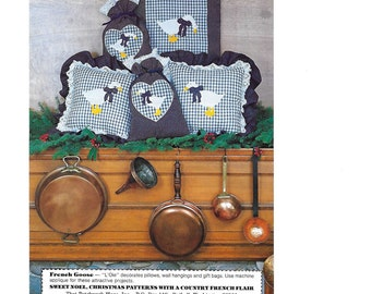 The French Goose Pillows; Wall Hangings and Gift Bags Sewing Pattern.