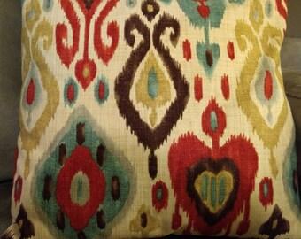 Decorative Pillow Cover, Couch Pillow Cover, Richloom Studios Dorado Persian, 18x18; Ready To Ship Today