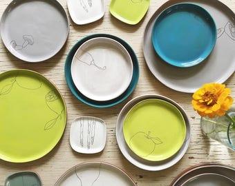 Earthenware Tiny Plates