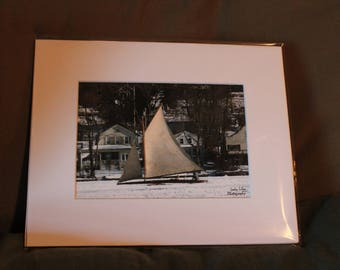 Ice Boat - 8x10 Matted Print