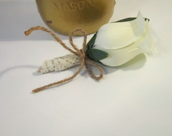 wedding, groomsman, groom, fatherofthebride,fatherofthegroom, boutonniere, rose boutonniere, silk rose boutonniere, timelesspeony
