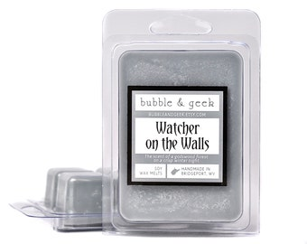 Watcher on the Walls Scented Soy Wax Melts - woods, smoky, winter