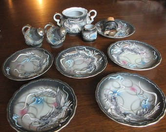 Ucagco Ceramics, Japan, Lot of 11 pieces