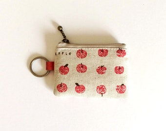 Key/coin purse -Apple (limited availability)